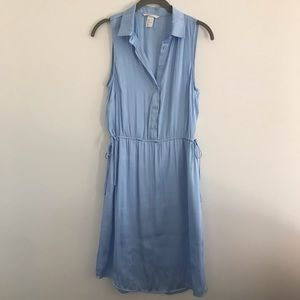 H&M Satin Button-front Dress